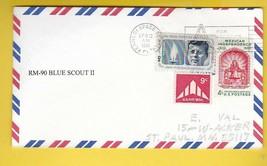 RM-90 BLUE SCOUT II ROCKET KENNEDY SPACE CENTER FL APRIL 12 1961 - $3.58
