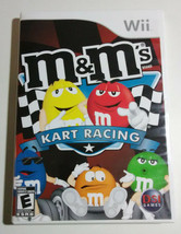 M And Ms MMs Kart Racing Nintendo Wii Game 2007 Yellow Red Orange Green - $12.37