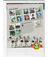 Celebrate The Century Stamps 1920's The Roaring Twenties Sheet Sealed - $19.00