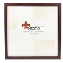 Lawrence Frames 755910 Espresso Wood Picture Frame, 10 by 10-Inch - $394,28 MXN