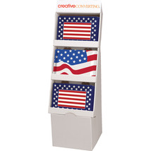 Patriotic 54pc Patriotic Tray Floor Display - $273.04 CAD