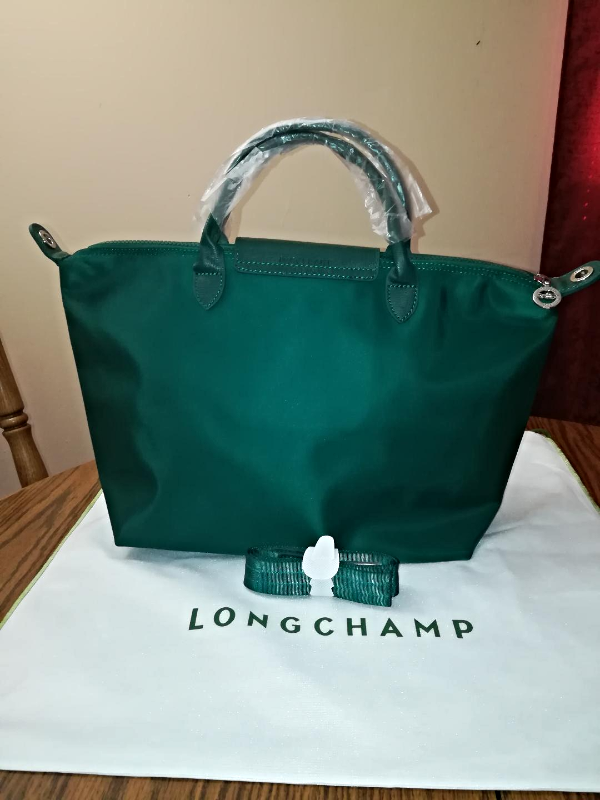 LONGCHAMP Le Pliage Medium Series NEO Moss Green - SOLD