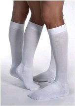 JOBST Activewear Compression Socks, 15-20 mmHg, Knee High, X-Large, Black - $38.32