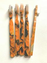 5-PACK FUN Vintage NEW Designer Toothbrush By Alan Stuart New York - $12.82