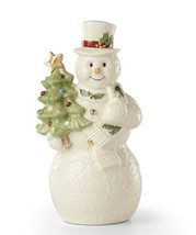 New in Box  Lenox Ivory Snowman Tree Snowman - $39.48