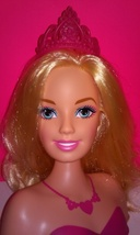 Barbie Princess Popstar Stylin Head   - $13.99