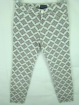 The Children's Place White Gray & Pink Printed Straight Leg Pants Girls ... - $12.18