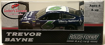 Trevor Bayne 2017 #6 Liberty National Ford 1:64 ARC - NASCAR