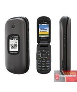 New -Samsung Gusto 2 Gray SCH-U365 (Verizon)(Page Plus) Cellular Flip Phone - $41.45