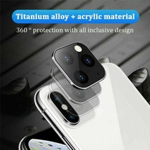 Lens Sticker Camera Protector for iPhone X XS MAX Fake Change to iPhone ... - $5.68