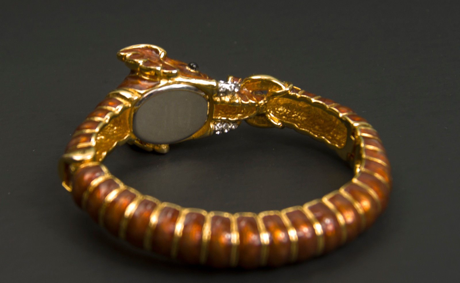 Adrienne Limited Edition Couture Collection Elephant Quartz Watch bracelet