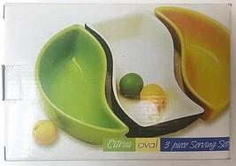 Citrus Oval 3 Piece Ceramic Serving Set (KADP-RL / 2) - £13.09 GBP