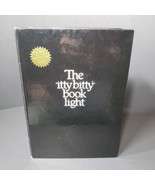 THE ITTY BITTY BOOK LIGHT 1982 Zelco - w/ Extra Bulb The Original Booklite  - $34.78