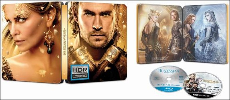 The Huntsman Winter's War Extended Limited Edition Steelbook 4K Ultra HD+Blu-ray