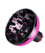 Hair Dryer Diffuser Adaptable for Blow Dryer with 1.7 to 1.9inch [Pink] - $17.29