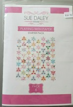 Sue Daley PLAYING WITH PAPER STARTER PACK 6 EPP English Paper Piecing - $24.50