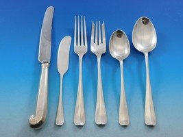 Rat Tail by Tiffany and Co Sterling Silver Flatware Set 12 Service 74 pi... - $10,750.00