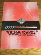 2000 Harley-Davidson Service Manual Catalog Softail FLS FXS w Electric Diagrams - $113.85