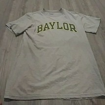 Mens Baylor Basketball Gray Short Sleeve Champion M T-shirt - $14.85