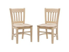 Linon Darlin Unfinished Set of 2 Kid Side Chair - $152.39