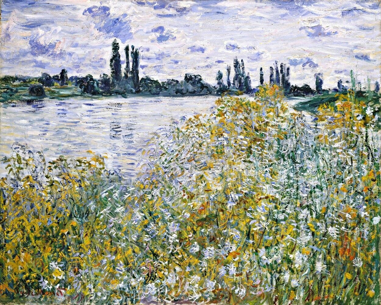 Primary image for Ile aux Fleurs near Vetheuil Painting by Claude Monet Art Reproduction
