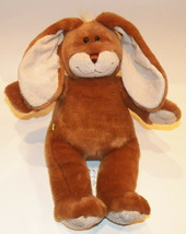 Brown Bunny Build Bear Plush Rabbit Tan Stuffed Animal Toy Easter Basket - $22.72