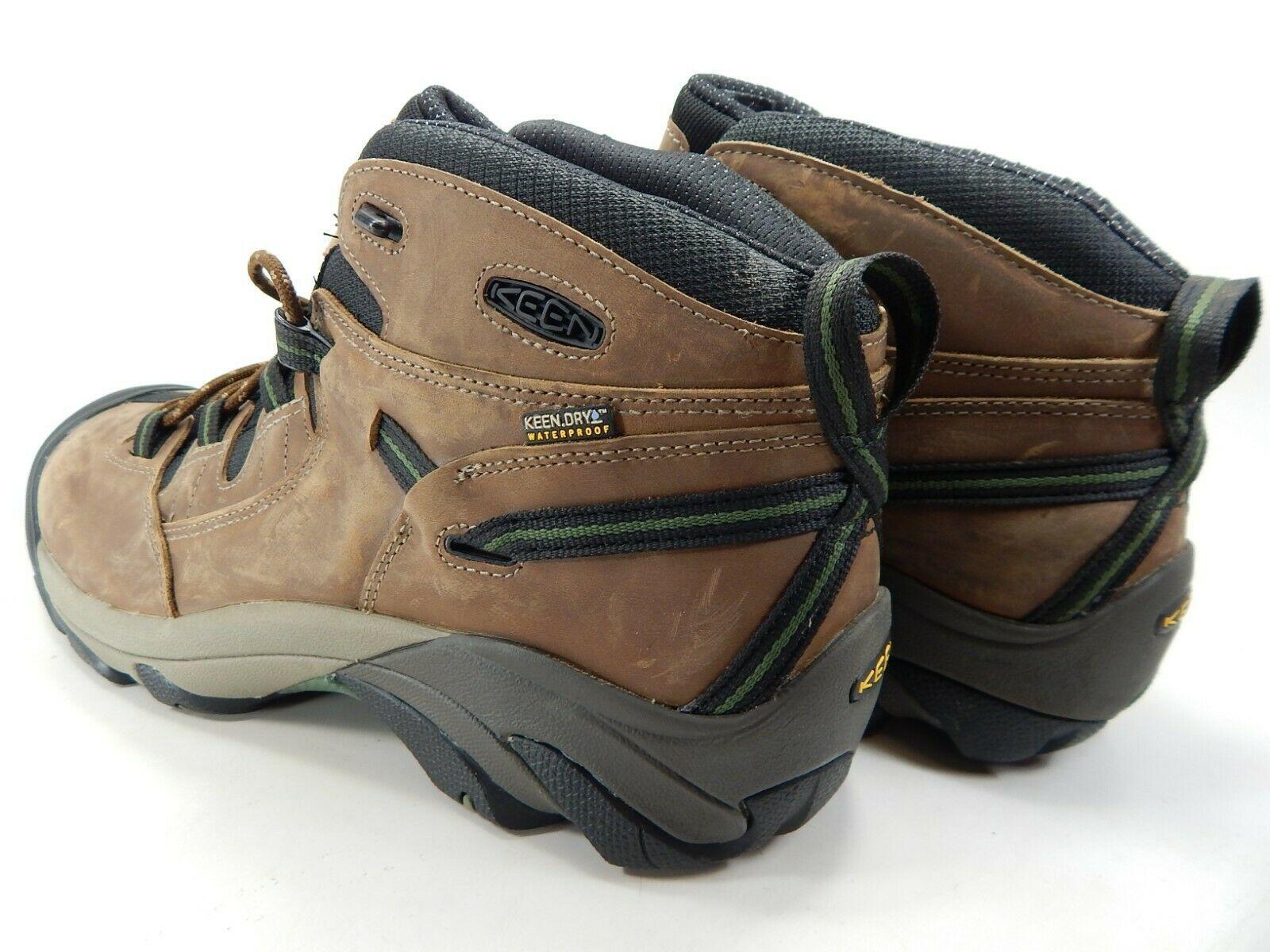 Keen Detroit Mid Size US 13 M (D) EU 47 Men's Steel Toe Work Boots Brown 1007003