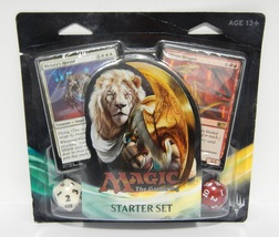 Magic The Gathering Starter Set 2017 - 60 Cards + 2 Spindown Life Counters - $29.95