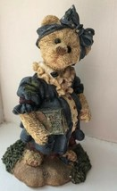 Boyds Bears Bearstone Collection Momma McBear Expecting Pregnant Gift #2282 - $9.89