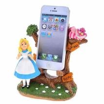 Disney store Japan smartphone stand Alice's figure mobile holder in Wond... - $84.15