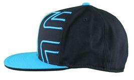 Etnies Chevy 210 Fitted Flex Fit Black Cyan Blue Hat Size: L/XL image 5