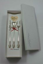 "American Classic by Easterling Sterling Silver ""I Love You"" Serving Set Custom - $185.25"
