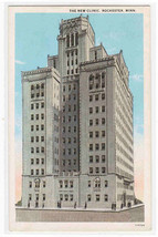 New Clinic Hospital Rochester Minnesota 1920s postcard - $5.94