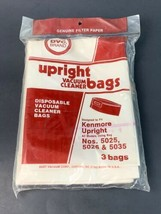 DVC Upright Pkg of 3 Vacuum Cleaner Bags Fits Kenmore Upright Bag 5025/5026/5035 - $6.00