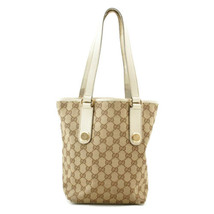 GUCCI GG Canvas Tote Bag Brown Auth 8974 - $120.00