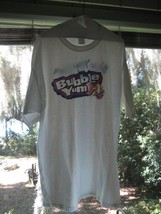 Bubble YUM gum advertising promo t-shirt tee ADULT XL Blow Your Own Bubb... - $14.77