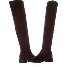 Franco Sarto Bailey Over-The-Knee Fashion Boots 921, Burgundy, 7.5 US / 37.5 EU - $32.63
