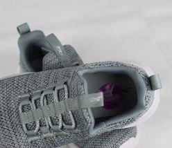 Skechers Jugend Mädchen Schuhe Sneaker Grau ohne Bügel Größe 10.5 image 5