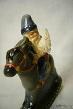 Vaillancourt Folk Art 30th Ann Starlight  Rocking Santa personally signed  Judi image 5