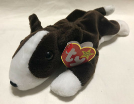TY BEANIE BABY BRUNO DATE 8/9/1998, P.V.C. STYLE 4183 - NEW OLD STOCK - $9.99