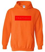 CC Bryson Tiller Trapsoul Hoodie Safety Orange (Infared Print) - $29.99
