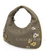 BOTTEGA VENETA Intrecciato Hobo Leather Shoulder Bag 115653 Authentic 54... - $593.87