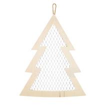 Darice Christmas Craft Supply - Flat Wood Chicken Wire Tree - $14.95