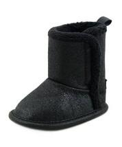 Gerber Cozy Faux Suede Winter Boot (Infant) Black with Black Foil 1 M US - £6.67 GBP