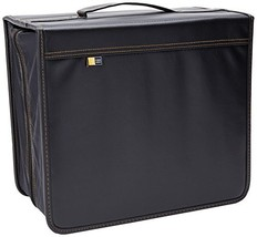 Case Logic DVB-200 200 CD/DVD and 92 Liner Note Capacity Black