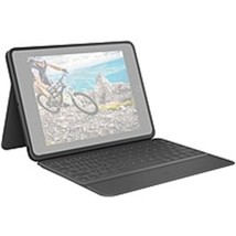 Logitech 920-009312 Rugged Folio Keyboard/Cover Case (Folio) Apple, Logitech iPa - $156.71