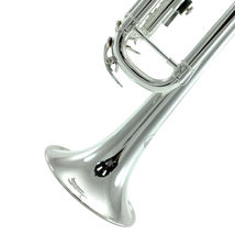 Band Approved SILVER Trumpet w Case + FREE Carrying Bag image 3