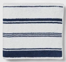 "Threshold Performance Bath Towel 30"" X 54 "".XAVIER NAVY Towel -New image 1"