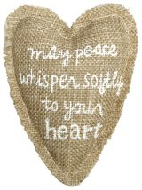 C.R. Gibson Treasured Healing Heart Pillow, By Sandra Magsamen, Pocket On Back W - $5.88
