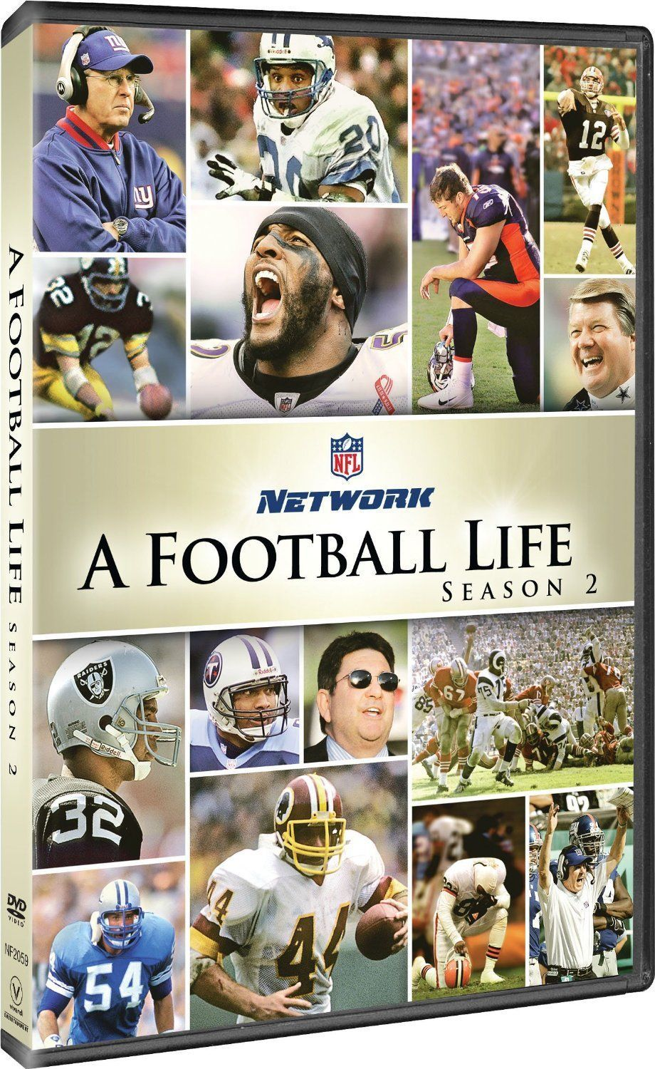 NFL a Football Life Complete Second Season 2 Two DVD Set Collection TV American